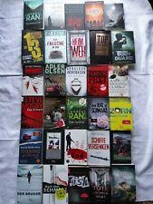 30 Bücher Paket Buchpaket: Thriller, Krimi; Olsen, Wolf, Franz...