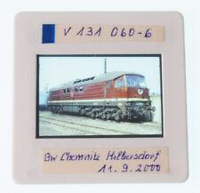 "Original KB Dia - Diesellok V 131 060-6 der DR - Chemnitz Hilbersdorf 2000 ""Zmb"