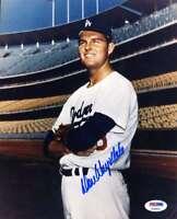 Don Drysdale Psa Dna Cert Autographed 8x10 Photo  Hand Signed Authentic