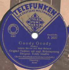 "78er Euro-Jazz Swing Teddy Stauffer Original Teddies ""Goody Goody"""