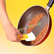 New Silicone Kitchen Pan Pot Dish Cleaning Brush Washing Spatula Scraper Cleaner