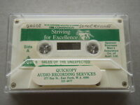 The Life Underwriters Association Of Aust 1986 Convention Striving Tape Cassette