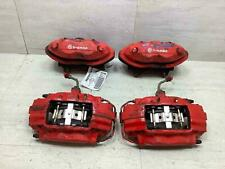 05 20 Dodge Challenger Charger Srt 8 Brembo Calipers Set Of 4 Red