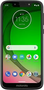 Motorola G7 Play - 32GB - Deep Indigo (Unlocked) PAE80008US (CDMA GSM)