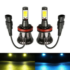 New H11 LED Fog Lights H8 bulb 3000K Yellow 8000K Ice Blue Dual Colors H16 Hot