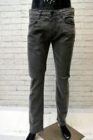 Jeans Pantalone Slim Grigio Uomo LEE Taglia Size W 32 L 34 Pants Skinny Man