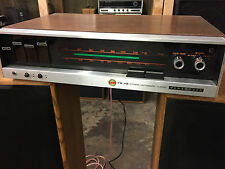 1960's 1970's Panasonic Model RE7700 Home Stereo Receiver Auto tune Needs work.