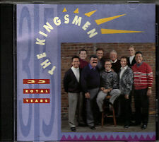 "THE KINGSMEN......""35 ROYAL YEARS"".........RARE HTF OOP GOSPEL CD"