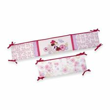 Disney Baby: Minnie Mouse Butterfly Dreams 4pc. Crib Bumper