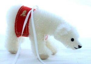 Steiff bears*Steiff Polar bear white  Ornament ltd Edition 12cm*Ean 037375