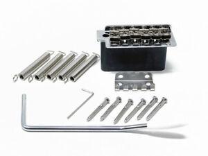 Wilkinson 5+1 Tremolo mit Stahlblock für Stratocaster Gitarren verchromt (WV6SB)