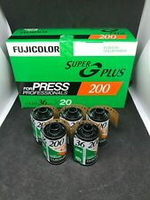5x Fujifilm Super Super G Plus 200  35mm expired film lomo kodak agfa 35mm