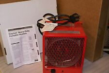 Dayton Heavy Duty Portable Industrial Heater Model 3VU35B 208 240 Volt