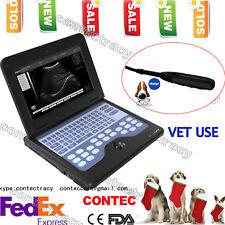 USA VET USE Ultrasound scanner B-ultrasound Diagnostic+ free 7.5MHZ rectal Probe
