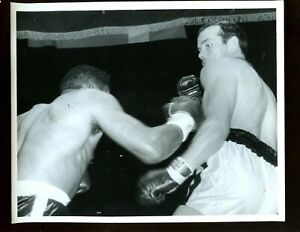 June 21 1960 Floyd Patterson vs Ingemar Johansson Boxing 8 X 10 Wire Photo #2
