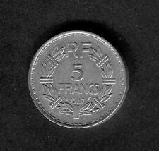 France: 1947 5 Francs Coin
