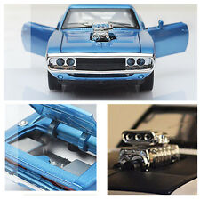 Hot 1:32The Fast and The Furious Dodge Car Models Sound Light Open Door Kids Toy