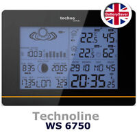 Technoline WS 6750 Weather Station, Temp, Humidity, Air Pressure, Moonphase