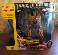 Rare Transformers Dark of the Moon DOTM Mechtech Bumblebee Autobot Toy Figurine
