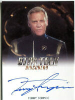 2019 RITTENHOUSE * STAR TREK DISCOVERY SEASON ONE * TERRY SERPICO AUTOGRAPH CARD