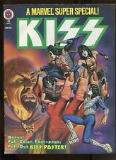 MARVEL COMICS  SUPER SPECIAL #5 (7.5) KISS WITH POSTER!