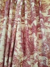 French Country Pictorial Curtains & Pelmets
