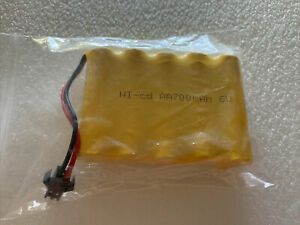Ni-Cd aa battery pack 700mAh 6v for B08BFL7B1Z, B08BFBHTW1 toy two pin