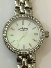 Rotary Ladies' Pink Dial Watch LB00017/BRS/07