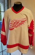 IGOR LARIONOV Hockey Jersey DETROIT RED WINGS CCM NHL Mens NEW XL Autographed