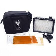 LitePanels MICROPRO LED CAMERA LIGHT w/Case & Filters AC & Battery LITE PANELS
