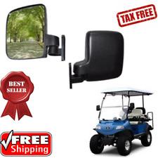 Golf Cart Accessories Side Mirrors fit Club Car Yamaha TXT DS Drive & G22 1 Pair