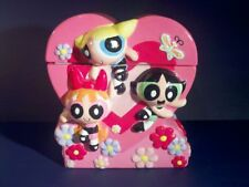 Powerpuff Girl Cookie Jar Bubbles Buttercup Blossom Htf