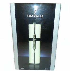 Travalo Milano Luxurious Portable Refillable Fragrance Atomizer, Color Cream