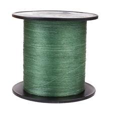 100 м 109Yds 6 фунтов (примерно 2.72 кг) тест зеленый Геркулес полиэтилен оплетка рыбалка линия 4 пряди ультрафиолетовому излучению