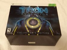 Xbox 360 Tron Evolution Collector's Edition Video Game New Free Shipping
