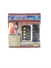 New listing Petsafe Trainer Range Obedience Remote up tp 75 yards 12 Levels water resistant
