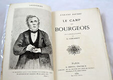 BAUDRY Le camp des burgeois Dentu 1868 illustrations de GUSTAVE COURBET RARE