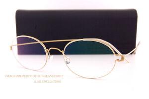 Brand New LINDBERG Eyeglass Frames Air Titanium Rim YORK GT w/ Brown Clip-on