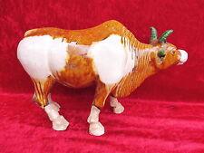 beautiful,antique Figure__ox (Cow )__Ceramics__35,5cm__