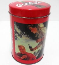 Coca-Cola - SCATOLA RAGAZZA NEVE - FOTO REALE-diam. cm. 10-h 15