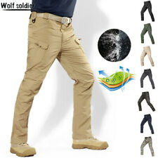 Mens Military Tactical Pants Combat Cargo Army City Casual Waterproof Camouflage