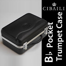POCKET TRUMPET HARD CASE• BRAND NEW • Fits Most Pocket Trumpets • Good Quality •