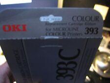 OKI Original Microline Color Ink Ribbon 393c 395 24-pin Printer 09002312 Ribbon