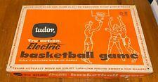 Vintage Tudor Tru Action Electric Basketball Game - Tested & Working