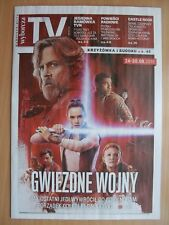 STAR WARS: The Last Jedi on front cover Polish Magazine WYBORCZA TV
