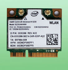 Intel Centrino Advanced-N6230 Wlan 62230ANHMW  BT 3.0  802.11a/b/g/n 0XXG96