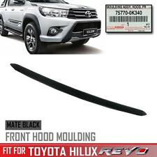 Black Line Front Bonnet Hood Trim For Toyota Hilux Revo Sr5 Genuine 2016 17 OEM