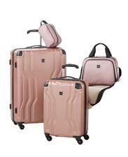 Tag Legacy 4-PC Luggage Set Color Pink New