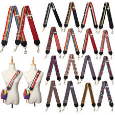 Women DIY Adjustable Guitar Style Replacement Strap For Crossbody Shoulder Bags