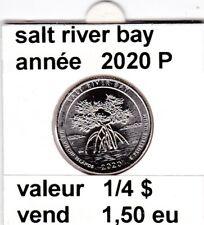 e 4 ) salt river bay  2020 P  voir description
